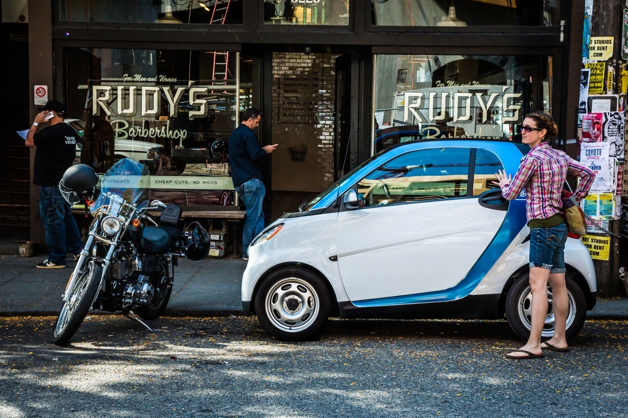 car2go Rudy&#039;s Barbershop